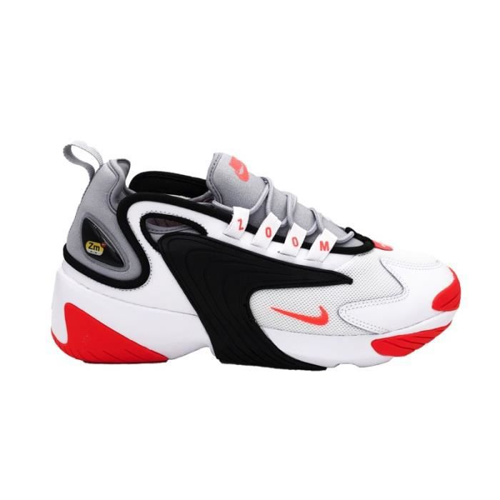 outlet store sale 5579b e5be4 NIKE SNEAKERS ZOOM 2K WHITE INFRARED 23-WOLF GREY AO0269-105 (41 - GRIGIO)