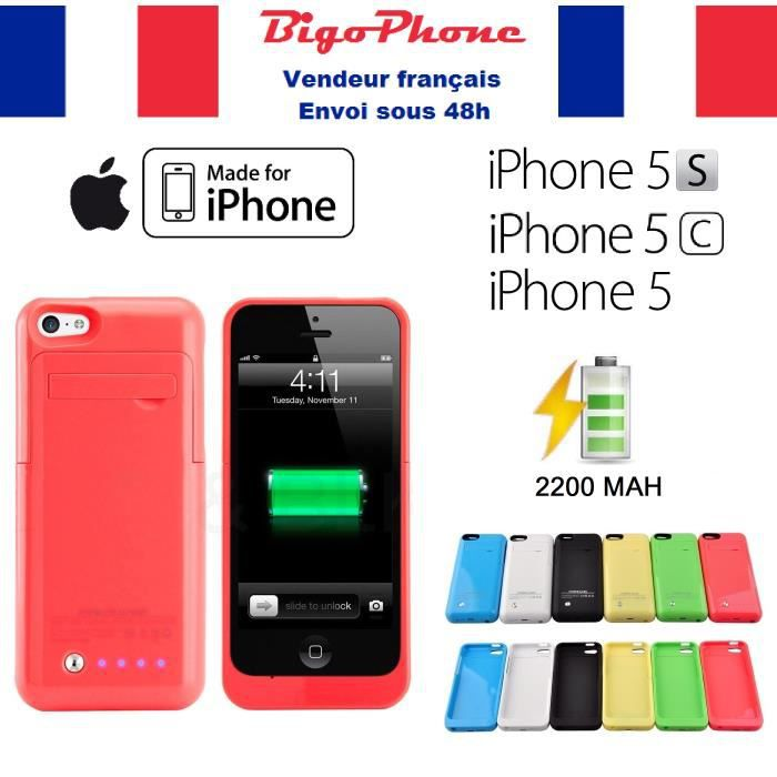 coque rechargeable iphone 5 achat vente coque rechargeable iphone 5 pas cher cdiscount. Black Bedroom Furniture Sets. Home Design Ideas