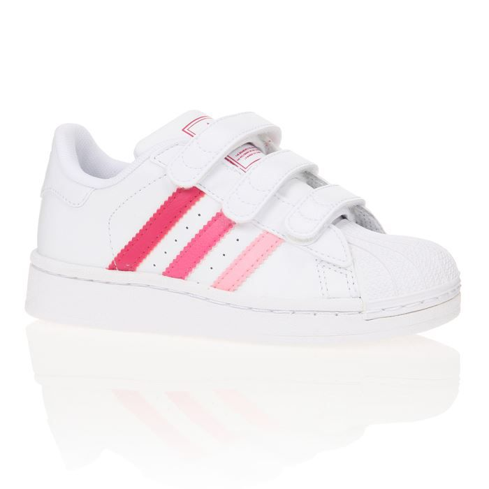 adidas originals baskets superstar 2 enfant fille achat. Black Bedroom Furniture Sets. Home Design Ideas