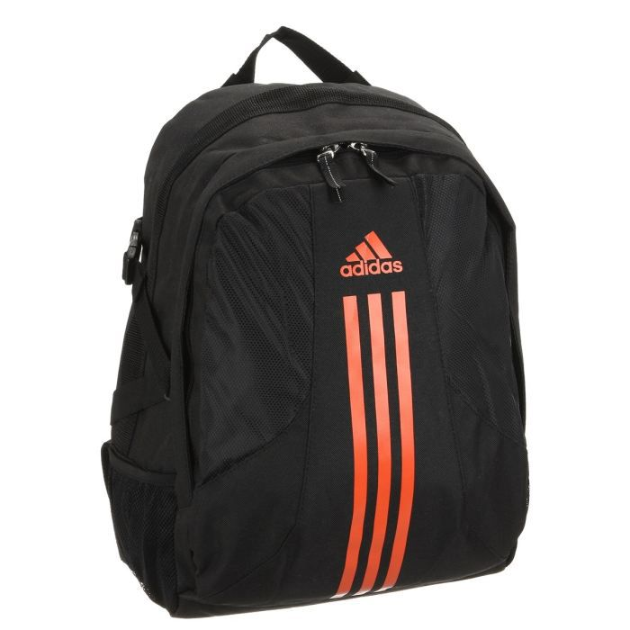 adidas sac dos noir et orange achat vente sac de sport adidas sac dos cdiscount. Black Bedroom Furniture Sets. Home Design Ideas