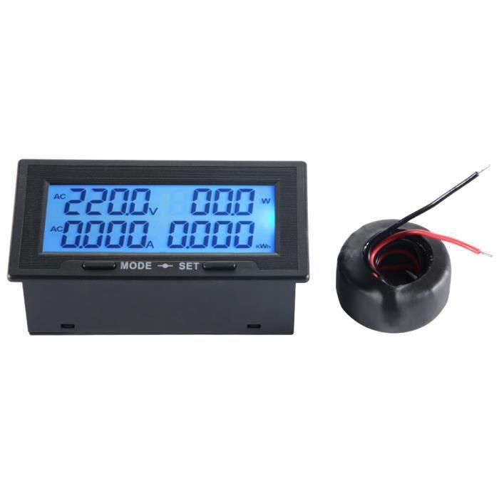 Amp AC 0-100A Voltmètre Ampèremètre LED Affichage Numérique Tension