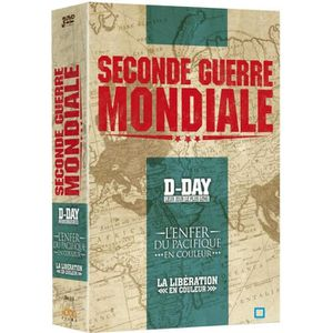 DVD DOCUMENTAIRE DVD Coffret 2nde Guerre Mondiale : D-Day, leur jou