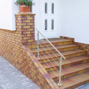 RAMPE - MAIN COURANTE Avec 4PCS Cross Bar 150cm intérieur Balcon Escalie