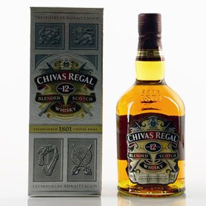 WHISKY BOURBON SCOTCH Whisky Chivas Regal 12 ans