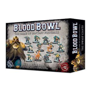 FIGURINE - PERSONNAGE Blood Bowl - The Dwarf Giants 200-17