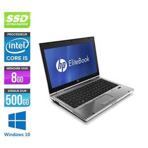 ORDINATEUR PORTABLE Pc portable HP EliteBook 2560P - i5 - 8 Go - 500 G