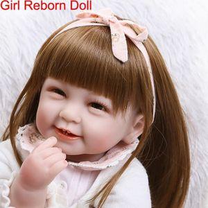 POUPÉE New poupée Reborn Baby Doll En Vinyle Souple En Si
