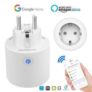 PRISE TÈLÈCOMMANDÈE Intelligente Prise connectée WiFi - Compatible ave