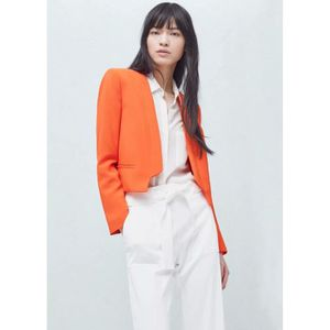 blazer femme orange achat vente blazer femme orange pas cher cdiscount. Black Bedroom Furniture Sets. Home Design Ideas