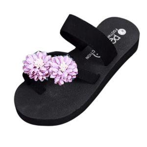 TONG Summer Beach Chaussures Plate-forme de bain chauss