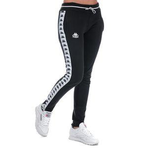 LEGGING Kappa Pantalon de jogging AFT Authentic Noir Blanc