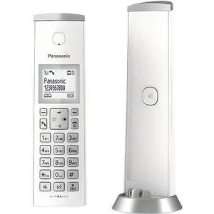 Téléphone fixe PANASONIC Téléphone résidentiel Fixe Sans Fil dect
