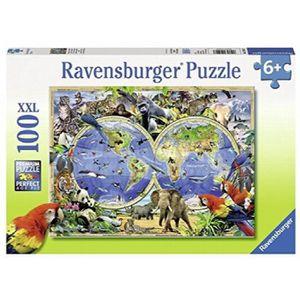 PUZZLE Ravensburger 10540 3 - Puzzle - Animaux Du Monde -