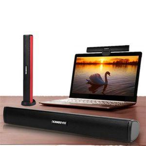 ENCEINTES ORDINATEUR USB portable stéréo haut-parleur portable Audio So