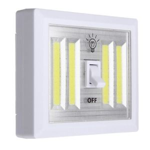 APPLIQUE  1 pcs COB Interrupteur de Lampe Murale LED Batteri