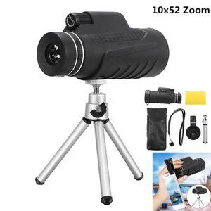 LONGUE-VUE TEMPSA Monoculaire Télescope Optical Zoom 10x52 Ré