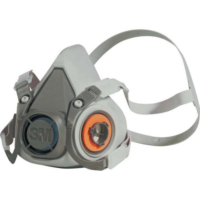 Demi-masque classique réutilisable 3M 6300
