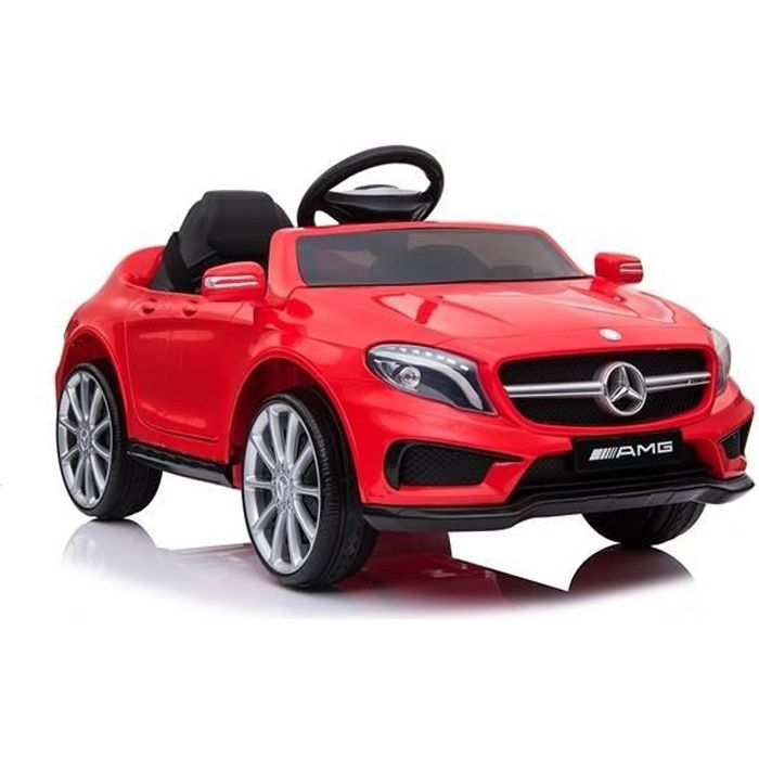 Mercedes GLA Télécommande Rouge - Voiture électrique pour enfant avec batterie 12v et télécommande
