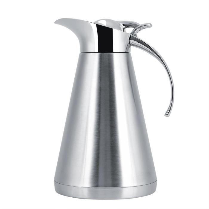 Cafetiere Bouilloire à café en acier inoxydable avec bouilloire pour café