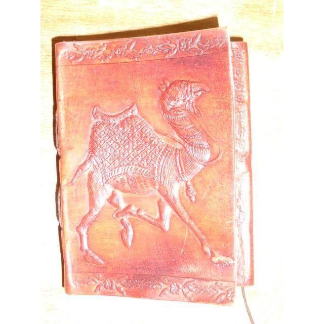 Carnet de voyage en cuir S Dromadaire