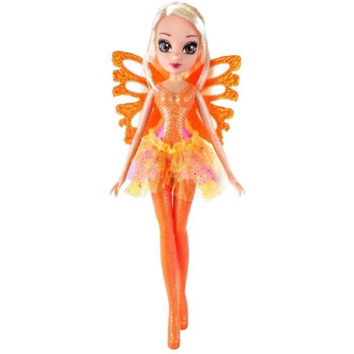 Poupées mannequins Giochi Preziosi Winx Sirenix Bubbles Wings, étoile avec Ailes et scettro Effet Bulles 276961