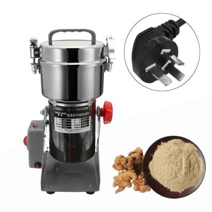 220V Moulin à grain électrique broyeur machine pour médicaments traditionnels chinois US PRISE