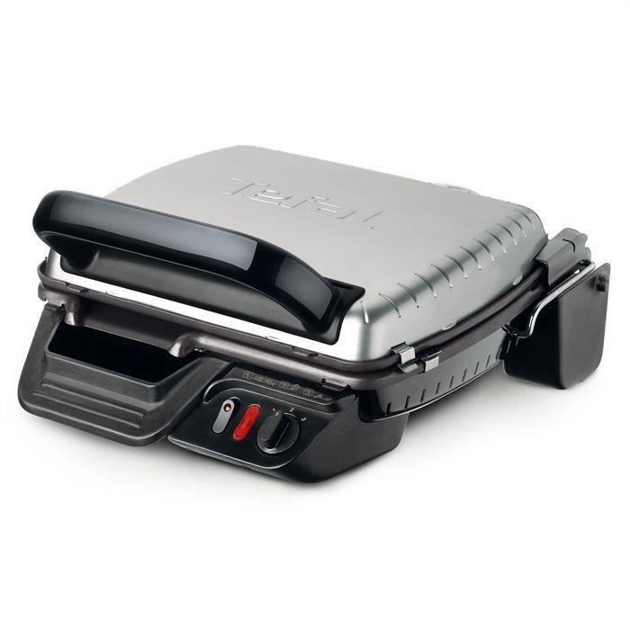 TEFAL GC305012 Grille-viande électrique UltraCompact Heatlh - Inox