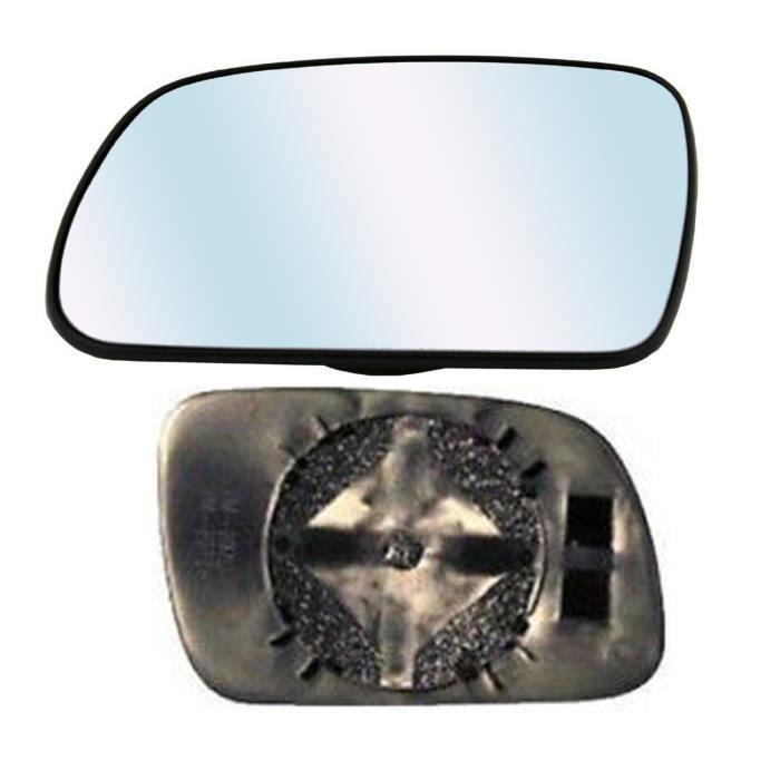 Miroir Glace asphérique Dégivrant Rétroviseur gauche pour PEUGEOT 307 de 2001 à 2005