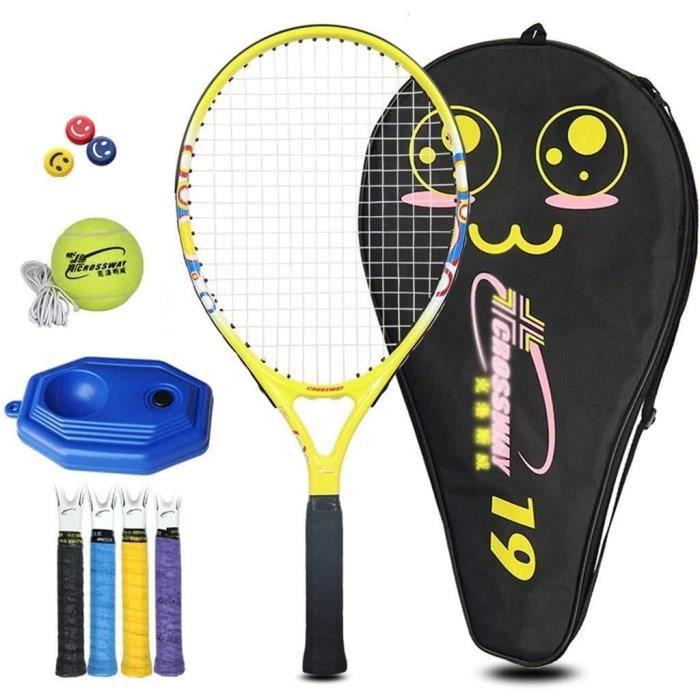 Raquette de Tennis Enfants Head Carbone Débutant Simple Costume Tennis Formation Cadeaux Racket for Les garçons et Les Filles,616