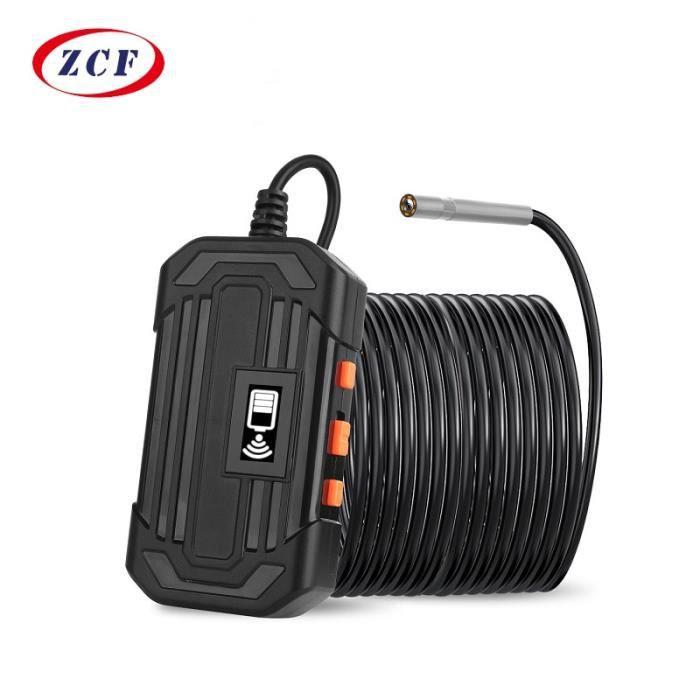câble rigide Y15 – caméra endoscopique WIFI HD 3.9 P 1080mm, câble Semi-rigide, étanche IP67, 6led, 2600 mAh,