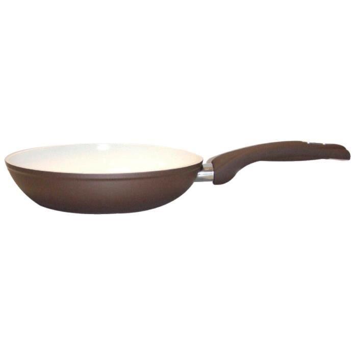 Poêle céramique Bialetti - Dimensions 22 cm