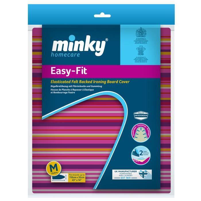 MINKY Housse de table à repasser easy-fit 110x35 cm