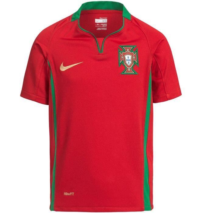 Maillot PORTUGAL Nike domicile Enfant Rouge