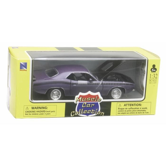 Assortiment 4 Muscle Cars Us 1/32