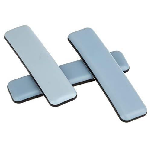12 x Patin glisseur en teflon//PTFE autoadh/ésif patins pour chaises et autre meubles 24 x 100 mm