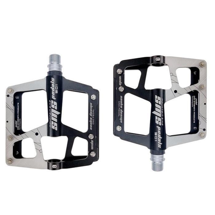 1 Paire d/'alliage d/'aluminium Pédale Pour Vélo de montagne pédales Plate-forme