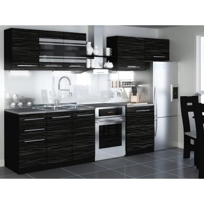 justhome torino i led cuisine quip e compl te 300 cm mod le de poign e ii achat vente. Black Bedroom Furniture Sets. Home Design Ideas