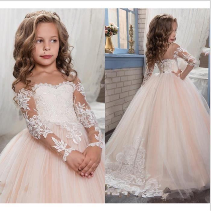 Robe de mariage pour petite fille - Achat