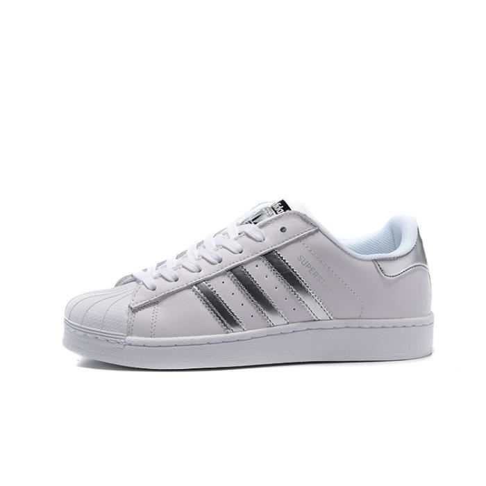 Adidas Superstar, Baskets Basses Homme Ou Femme AQ3091 Blanc ...