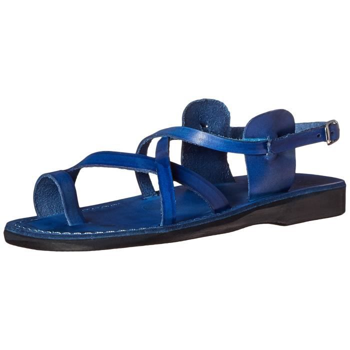 The Good Shepard Buckled Toe-ring Sandal JYVUM Taille-39 1-2