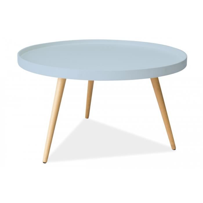Table basse design tani b bleu achat vente table basse - Table basse bleu ...