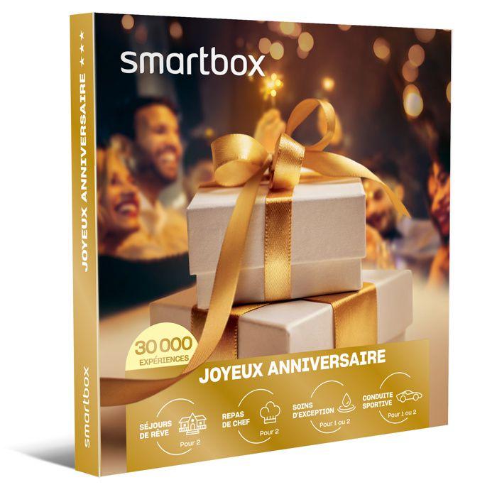 COFFRET SÉJOUR SMARTBOX - Coffret Cadeau - Joyeux anniversaire -