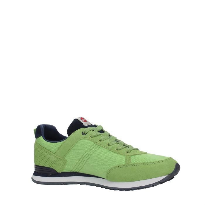 Colmar Sneakers Homme GREEN/NAVY