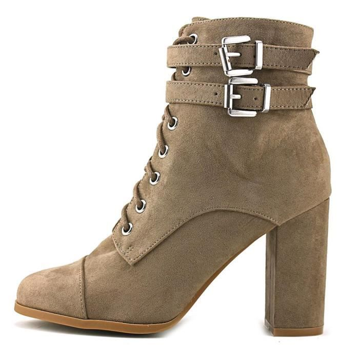 Madden Girl Klaim Femmes US 7 Beige Bottine