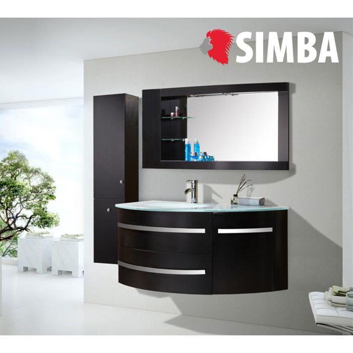 Evier Meuble Salle De Bain meuble salle de bain noir vasque luxe, lavabo ,mod. black