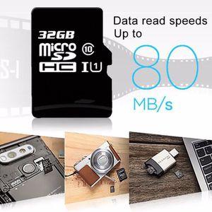 CARTE MÉMOIRE Carte mémoire SD 32 32GB 32G Micro SD SDHC Classe