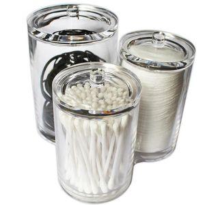 BOUTEILLE - FLACON Boîtes à Cosmétique Acrylique Plastique Pots Jars