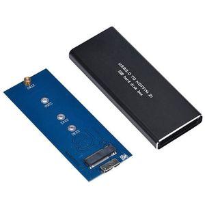 BOITIER POUR COMPOSANT Boîtier pour Disque dur Externe SSD NGFF M.2 SSD A