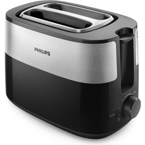GRILLE-PAIN - TOASTER PHILIPS HD2515/90 Grille-pain ultra compact - 2 fe