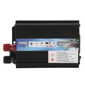 Convertisseur de Tension sinuso/ïdale Reiner KFZ 500W Convertisseur 12v /à 230v pour Voiture Convertisseur inverseur avec 1 Prise de Courant EU et 2 Ports USB Puissance de cr/ête 1000 Watt